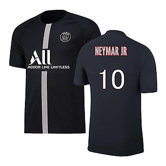 Men's Football Jersey Paris 2021-2022 Season #10 Neymar Jr Psg Jerseys Ligue Patch Sports Soccer T-shirts Size S-xxxl