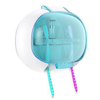 Brosse à dents Uv montée sur le mur, support de stérilisateur, boîte de désinfection