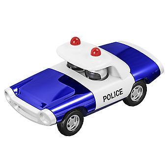 Aliaj de poliție Pull Back Car Model de jucărie Cadou Colectia Home Decorare