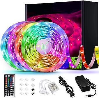 Luces led de tira, cambio de color Rgb 5050 ultra largo, decoración del hogar