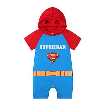 Baby Jumpsuit Cartoon Style Romper Outing Clothes