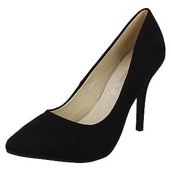 Damen-Spot auf High Heel Spitzen Spitze Gericht Schuhe F9665