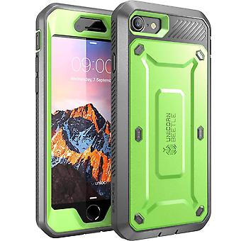 SUPCASE-Apple iPhone 7,Unicorn Beetle PRO Series Case-Green/Gray