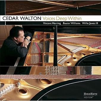 Cedar Walton - Voices Deep Within [CD] USA import
