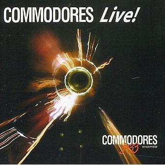 U.S. Navy Commodores - Commodores Live [CD] USA import