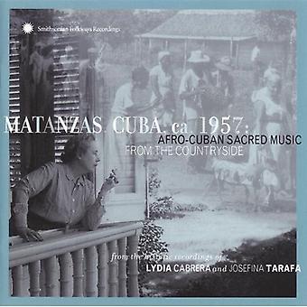 キューバのマタンサス Ca 1957-アフロ ・ キューバのマタンサス Ca 1957 アフロ カブ [CD] アメリカ インポート