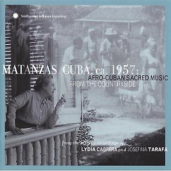 Matanzas Cuba Ca 1957-Afro - Matanzas Cuba Ca 1957-Afro Cub [CD] USA import