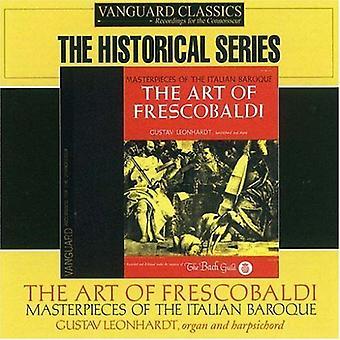G. Frescobaldi - The Art of Frescobaldi: Masterpieces of the Italian Baroque [CD] USA import