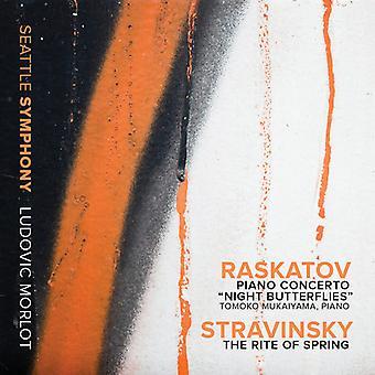 Raskatov / Stravinsky - Pno Con Night Butterflies-Stravinsky: Rite of [CD] USA import