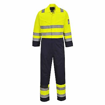 sUw - Hi-Vis Safety Workwear MODAFLAME Coverall Boilersuit