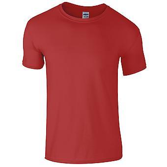 Gildan Mens manches courtes Soft Style T-Shirt