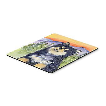 Carolines schatten SS1057MP Finse Lappenhond Mouse Pad / Hot Pad / Onderzetter