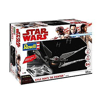Revell 6760 Star Wars Episode VIII rakentaa & pelata Kylo Ren ' s tie Fighter muovi malli Kit