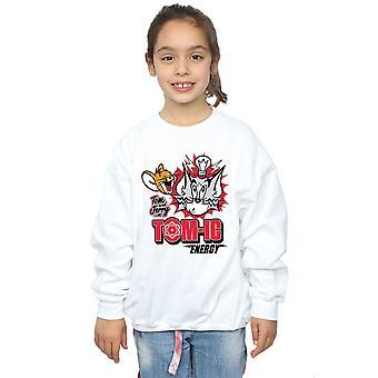 Tom And Jerry Girls Tomic Energy Sweatshirt