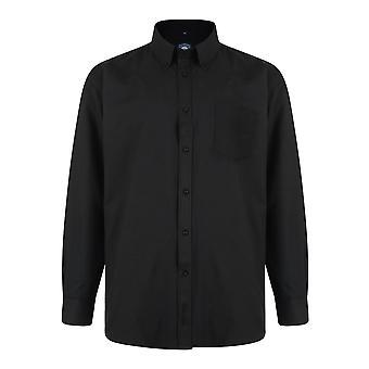 Kam Oxford Classic Long Sleeve Shirt