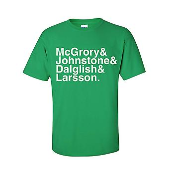 Celtic Football Legends T-shirt (green)