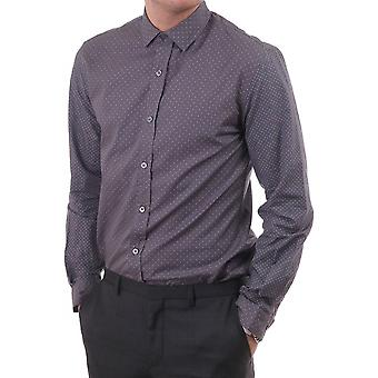 Paul Smith London Mens Sc Slim Fit Shirt With Dot Detail