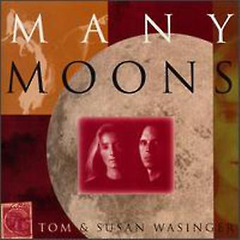 Tom Wasinger & Susan - Many Moons [CD] USA import