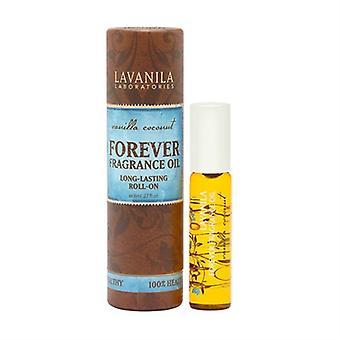 Para sempre lavanila fragrância óleo coco baunilha roll-on 0,27 oz / 8ml