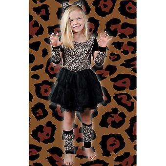 Kinder Kostüme Mädchen Leopard Mädchen