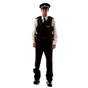 Policeman Real Life Cardboard Cutout