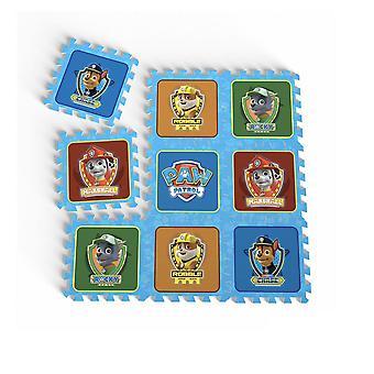 Tatamiz pata patrulla espuma alfombra Puzzle 9 piezas (TTMZ210)
