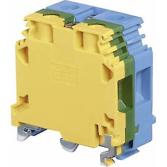 ABB 1SNA 165 680 R0300 Podstawa listwy zaciskowej 24 mm Konfiguracja śrub: Terre, N Green, Yellow, Blue 1 szt.)