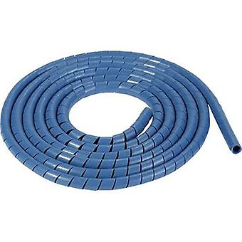 HellermannTyton SBPEMC16-PE-BU-30M spiral slange 20 op til 150 mm blå solgt pr. meter