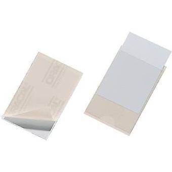 Kestävä itsetiivistävällä laukku POCKETFIX 57x90mm - 8379 (W x K) 90 x 57 mm Läpinäkyvä 100 PCs() 837919
