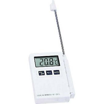 TFA Dostmann Kat.Nr. 30.1015 Sondenthermometer Temperaturmessbereich -40 bis 200 °C Sensor Typ NTC Entspricht HACCP-Standards