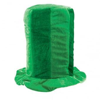 Union Jack slitasje grønt høye flosshatten