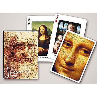Leonardo Da Vinci Set Of 52 Playing Cards + Jokers