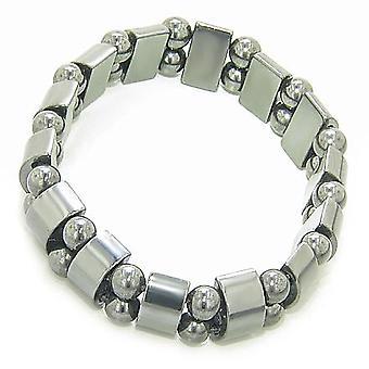 Mooie bescherming en magnetische hematiet armband