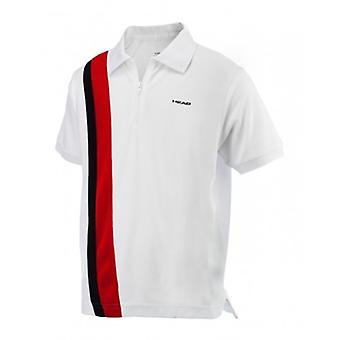 Head Baddley zip Polo 811253-WHRB