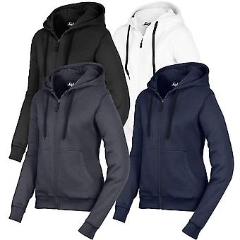 Snickers Workwear Womens Zipped Hoodie Work Top with Pockets - 2806