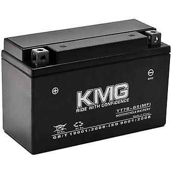 Battery for Yamaha 450 YFZ450 2004-2009 YT7B-BS Sealed Maintenance Free Battery High Performance 12V SMF OEM Replacement Powersport Motorcycle ATV Scooter Snowmobile