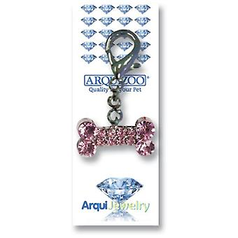 Arquivet Arquijewelry Pink Bone. (Dogs , Collars, Leads and Harnesses , Accessories)