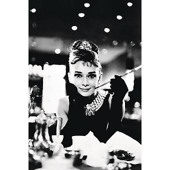 Audrey Hepburn Poster desayuno con diamantes 91.5 x 61 cm