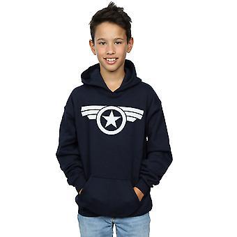 Marvel Boys Captain America Super Soldier Hoodie