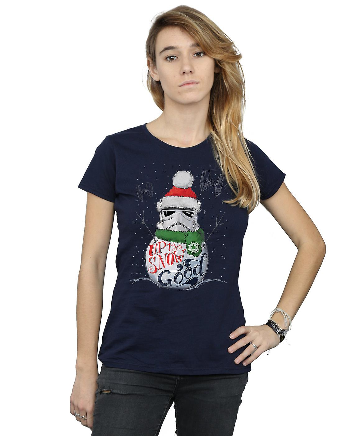 Star Wars Women's Stormtrooper Up To Snow Good T-Shirt