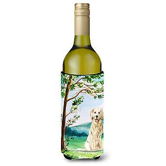 تحت شجرة الذهبي المسترد زجاجة النبيذ المشروبات عازل نعالها