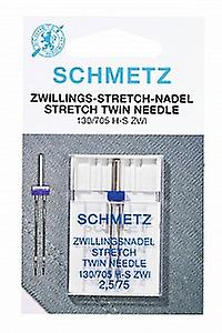 Schmetz Sewing Machine Needle - Stretch Twin (Différentes Tailles)