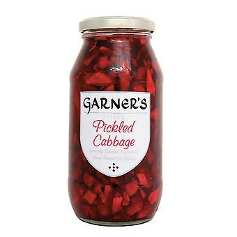 たまるは、もろみ酢に赤キャベツのピクルス