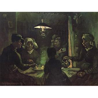 Peruna syöjille, Vincent Van Gogh, 50x40cm