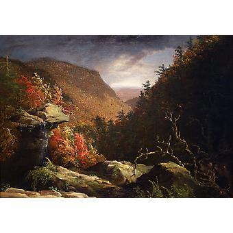 Le clou de girofle, Catskills, Thomas Cole, 60x40cm