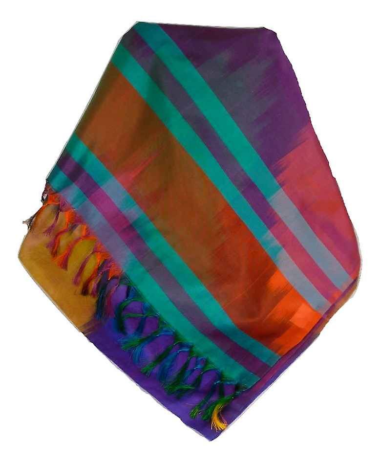 Varanasi Ekal Premium Silk Long Scarf Heritage Range Tiwari 2 by Pashmina & Silk