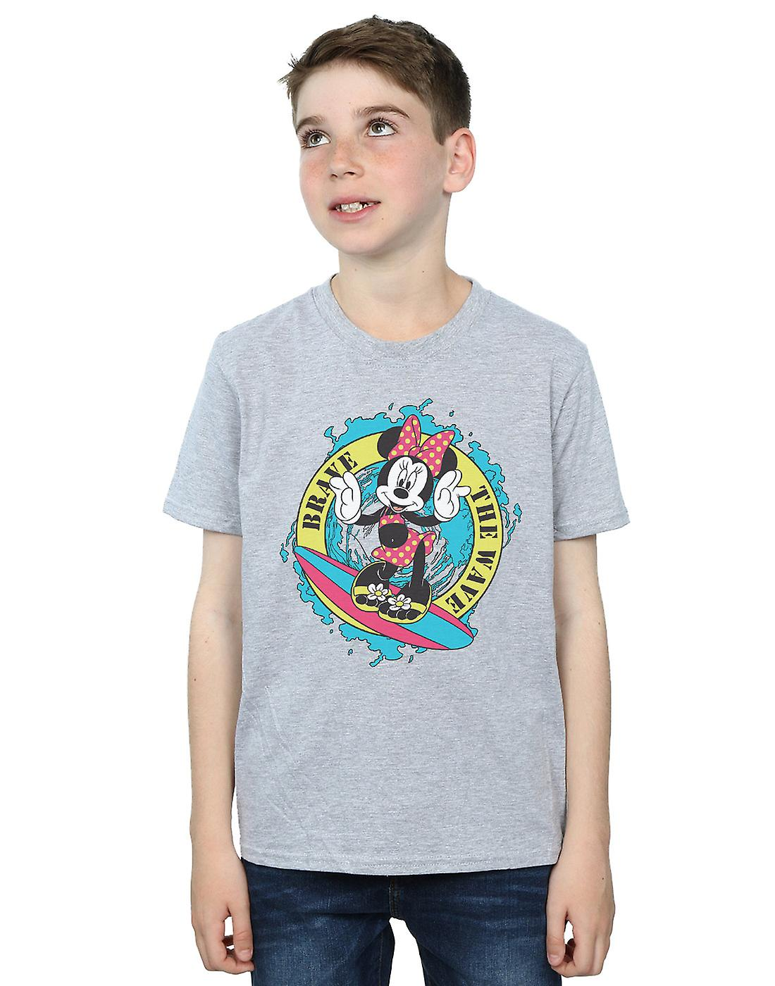 Disney Boys Minnie Mouse Brave The Wave T-Shirt