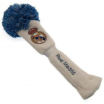 Real Madrid FC Official Driver Pompom Headcover