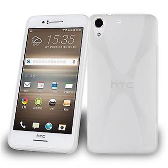 Custodia Cadorabo per custodia HTC Desire 728 - Custodia per telefono in silicone Mobile TPU - Custodia protettiva in silicone Ultra Slim Soft Back Cover Bumper