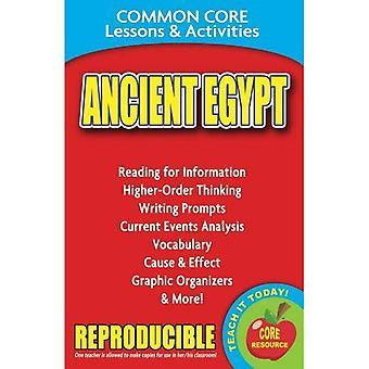 Alten Ägypten gemeinsamen Kern Lektionen & Aktivitäten